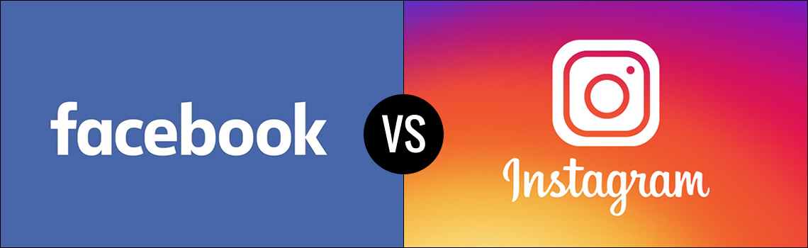 Facebook e Instagram a confronto. Differenze e caratteristiche.